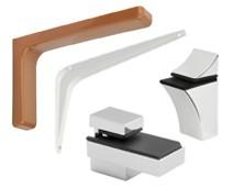 Полкодержатели, мебельные уголки