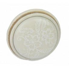 Ручка кнопка Giusti РГ 518 винтажное золото/керамика (P77.01.F3.T5G)