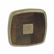 Ручка кнопка Giusti РГ 512 старое золото/темный перламутр (WPO716.030.MGD1)