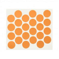 Заглушка минификса самоклейка WEISS оранжевая 5292