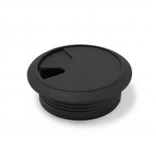 Заглушка электропроводки черная