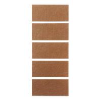 Самоклейка фетровая 4,0х9,0 (5шт/лист) для мягкой мебели