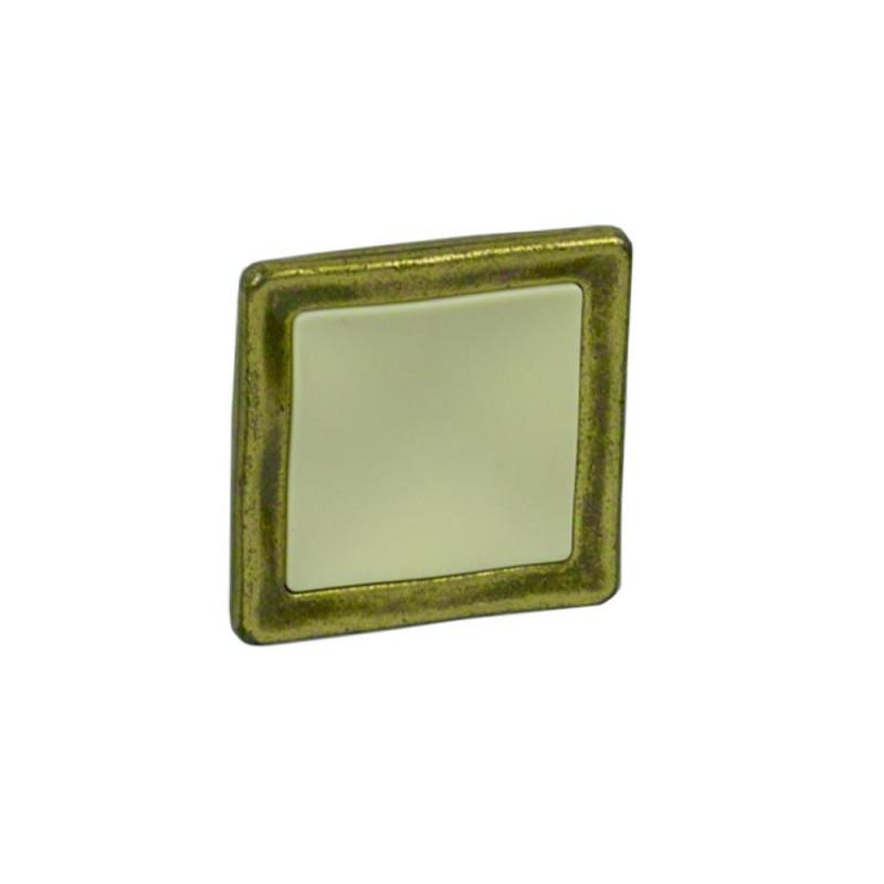 Ручка кнопка Giusti РГ 51 старое золото/слоновая кость (WPO188.000.01D1)