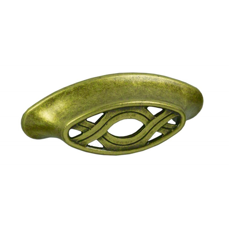 Ручка скоба Giusti РГ 42-64 старое золото (WMN537.064.00D1)
