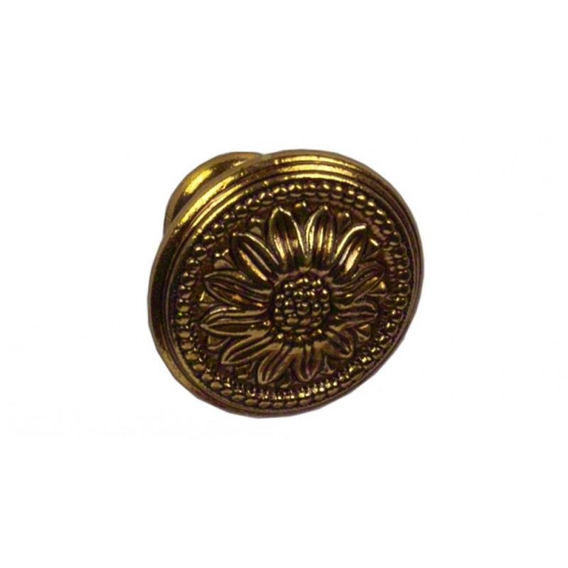Ручка кнопка Giusti РГ 102 золото барокко (EXP2027/30.30)