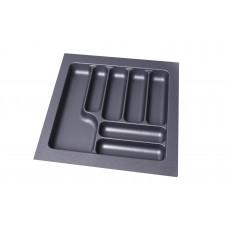 Пенал для посуды серый 600 (540х490х55) Starax