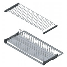 Starax Сушка для посуды 900мм с рамкой, серая