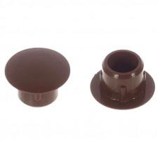 Заглушка пластиковая 5 мм коричневая , Турция