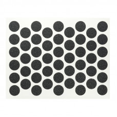 Конфирмат заглушка самоклейка WEISS черная 2110