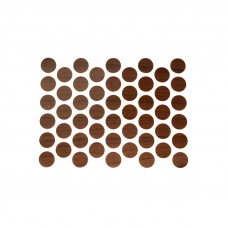 Конфирмат заглушка самоклейка WEISS орех лесной 7455