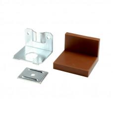 Уголок LS металл/пластик Коричневый