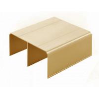 Sevroll Шина Gemini верх золото L=4050 мм