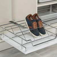 Starax Корзина для обуви выдвижная 425х485х150 хром