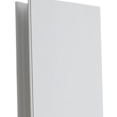 Цоколь ПВХ Korner Угол универсал белый H=100
