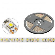 GTV LED - лента без силикона, теплый белый, 120 диодов/м - 9,6 Вт (Китай)