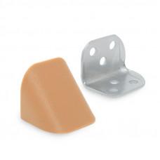 Уголок двойной металл/пластик, ольха