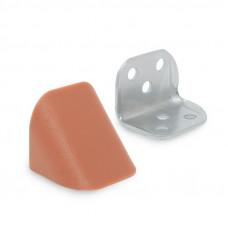 Уголок двойной металл/пластик, кальвадос