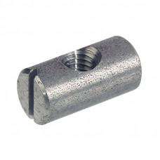 Стяжка бочонок М6, D10х14 мм, эксцентричный, сталь, Hafele