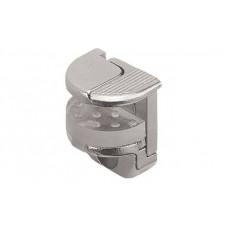 Полкодержатель Hafele с защелкой-фиксатором для стекла до 10 мм