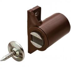 Магнит мебельный боковой коричневый, 3-4 кг, Hafele