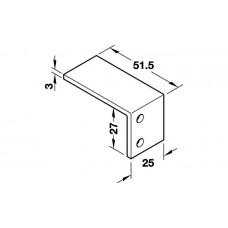 Hafele SILENT VF 40 Уголок ограничения хода для наружных дверей (к 24109)
