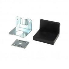 Уголок LS металл/пластик Черный