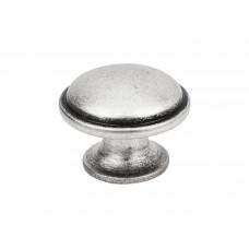 Ручка кнопка Virno Antique 635 античное серебро