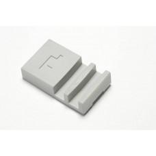 Hafele SLIDO Design 4 IF Шина низ, пластик серый