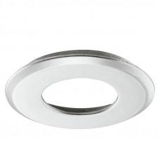 Светильник LED 2040 корпус круглый для врезного монтажа, серая Hafele