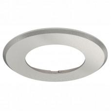 Светильник LED 2025/26 корпус круглый для врезного монтажа, пластик серый Hafele