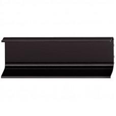 Ручка-профиль, черная L=2500 мм, C-образная, Hafele
