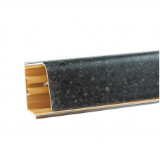 Бортик Korner LB37 Бриллиант Черный 468 (акс.M-468, 380) L-4200 мм
