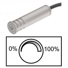 Регулятор яркости, пластк. серебряный 60мм D13мм, Hafele