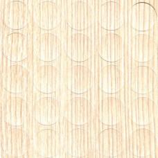 Конфирмат заглушка самоклейка FOLMAG Шервуд светлый 835 - 25 шт/лист
