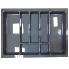 Пенал для посуды UNI металлик 700 (630х430х45) Rejs