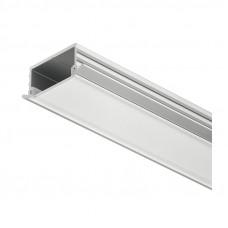 Профиль LED врезной матовый 18х2500 мм, алюм., Hafele