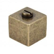 Ручка кнопка Ferretto 358-12 античная бронза