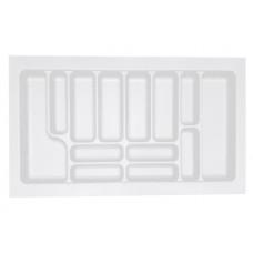 Пенал для посуды белый 900 (840х490х55) Starax