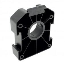 Ножка кухонная AXILO -Монтажная пластина под шуруп, черная, Hafele