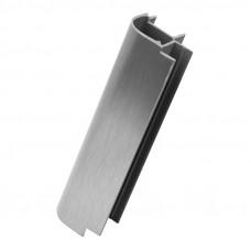 Цоколь ПВХ Volpato Угол 90* наружный H=100 никель браш