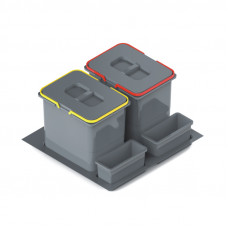 Ведро-контейнер PRACTIKO 60 двойное (2x15л), Rejs