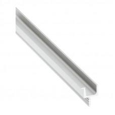 Ручка-профиль, серебро L=2500 мм, 16,8х11мм, Hafele