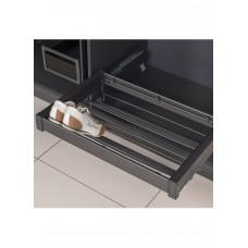 Starax Полка для обуви 760-790х475х150 800мм антрацит