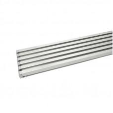 Решетка вентиляционная L=610 х 90 алюминий, Albatur