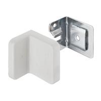 Навес для шкафов, заглушка пластиковая цвет: белый,  нагрузка 90 кг на пару, Hafele