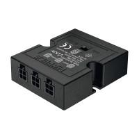 Разветвитель для выключат. 12V 24V 350 mA, 1 драйвер - 3 выключателя, универсальный, черный, Hafele