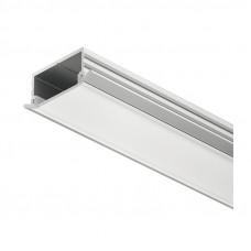 Профиль LED врезной молочный 18х2500 мм, алюм., Hafele