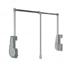 Пантограф L=750-1150 мм серый пластик, нагрузка до 15кг, Albatur