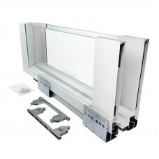 ERGO BOX  белый  L=450 H = 171 Linken System со стеклянными боковинами