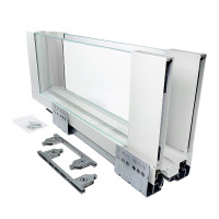 ERGO BOX  белый  L=500 H = 171 Linken System со стеклянными боковинами